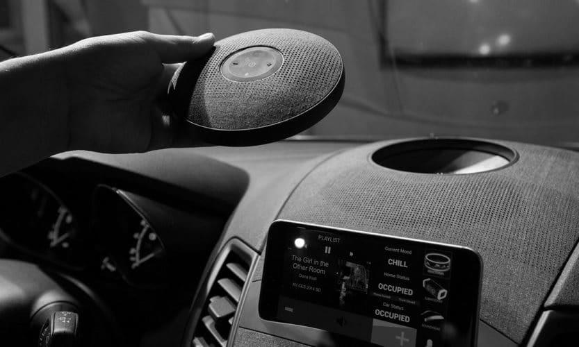 Altavoces Bluetooth conectar en el coche
