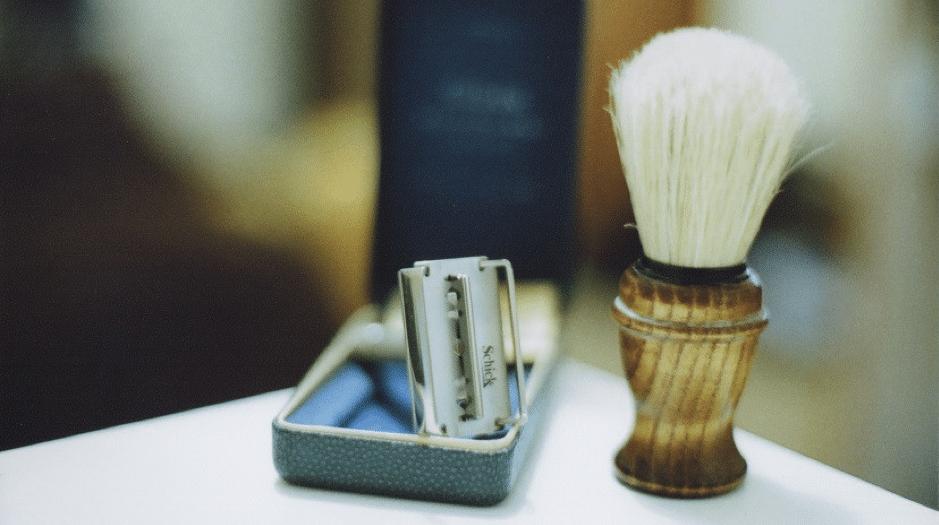 como usar jabon de afeitar