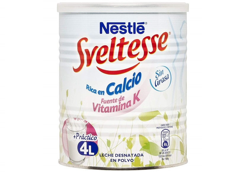 Nestlé leche en polvo