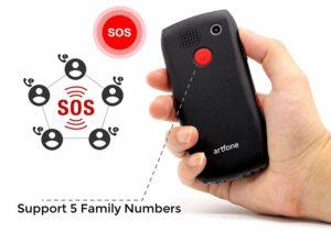 telefono para personas mayores con boton sos