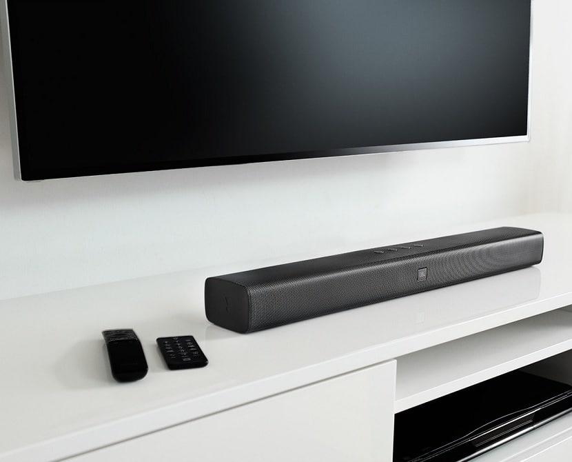 Conectar barra de sonido a la TV