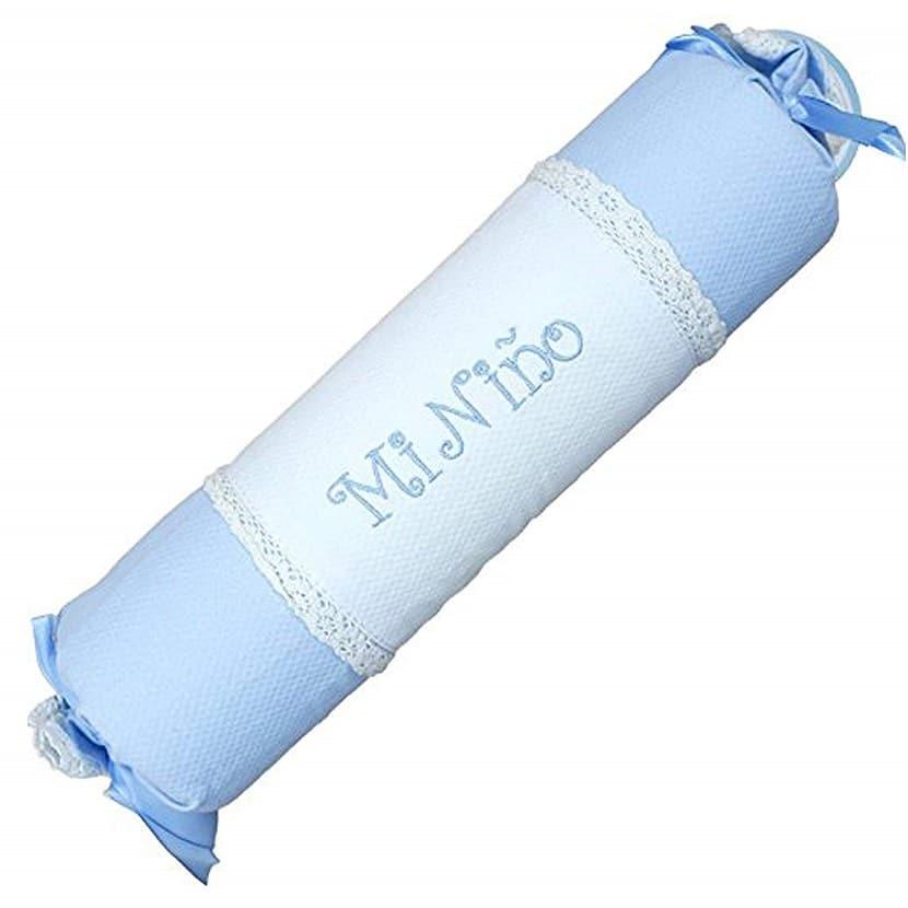 Cojín antivuelco azul