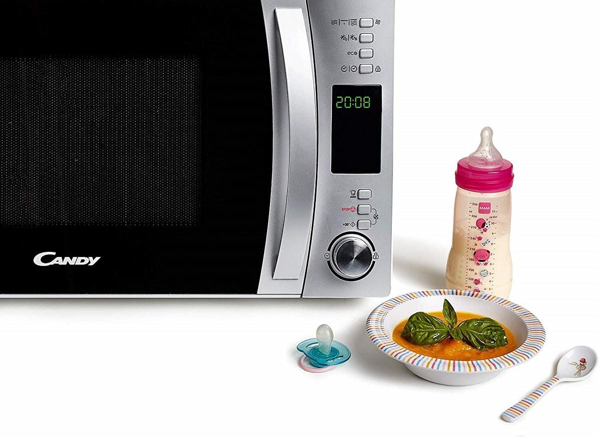 como elegir microondas con grill