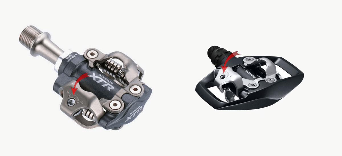 Desaflojar pedales automáticos
