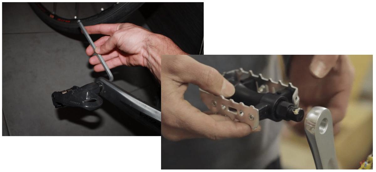 Instalar pedales automáticos