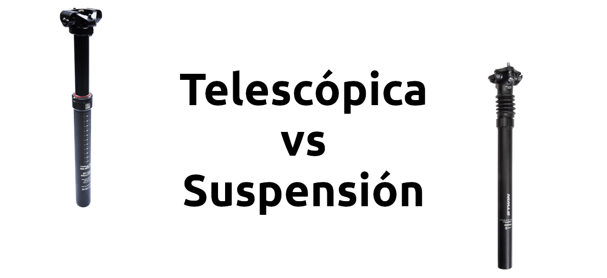 Telescópica vs suspensión