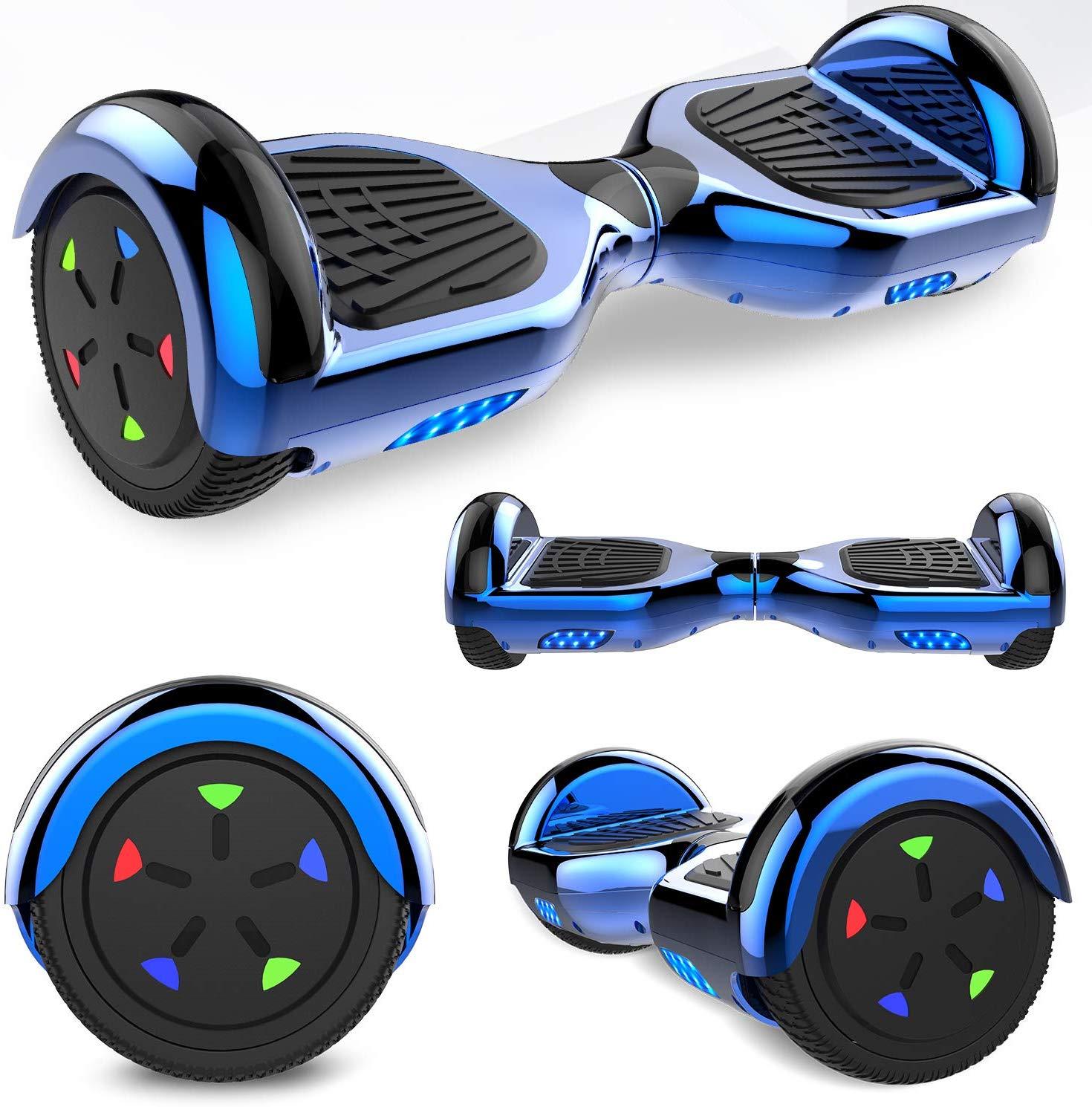 hoverboard azul