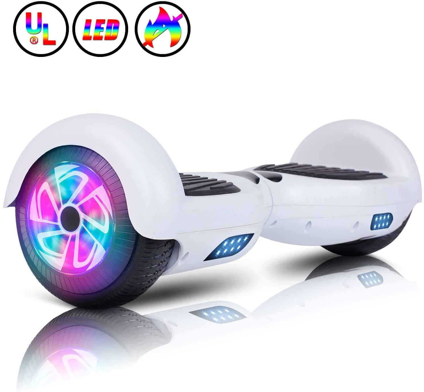 hoverboard blanco