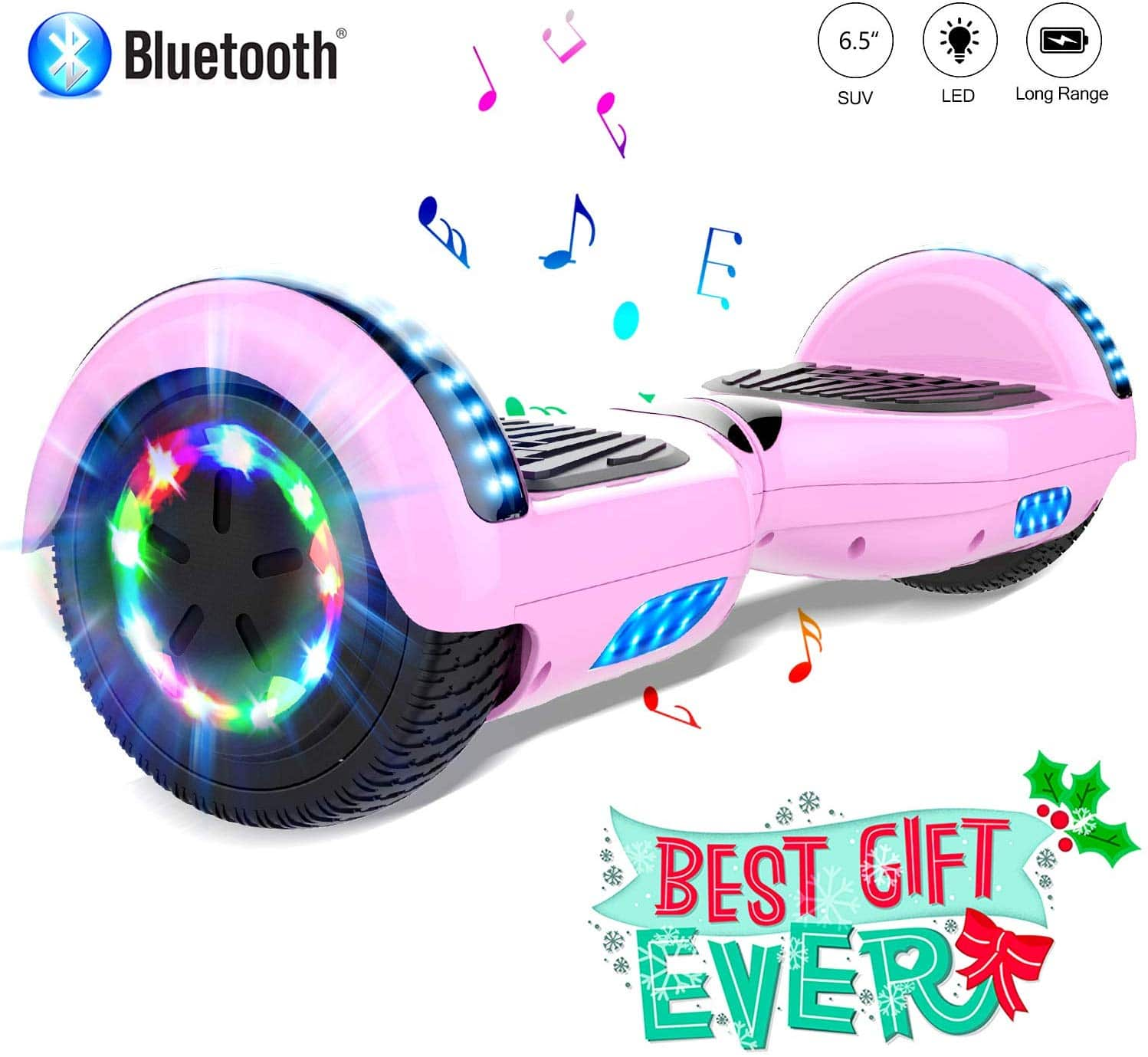 hoverboard rosa