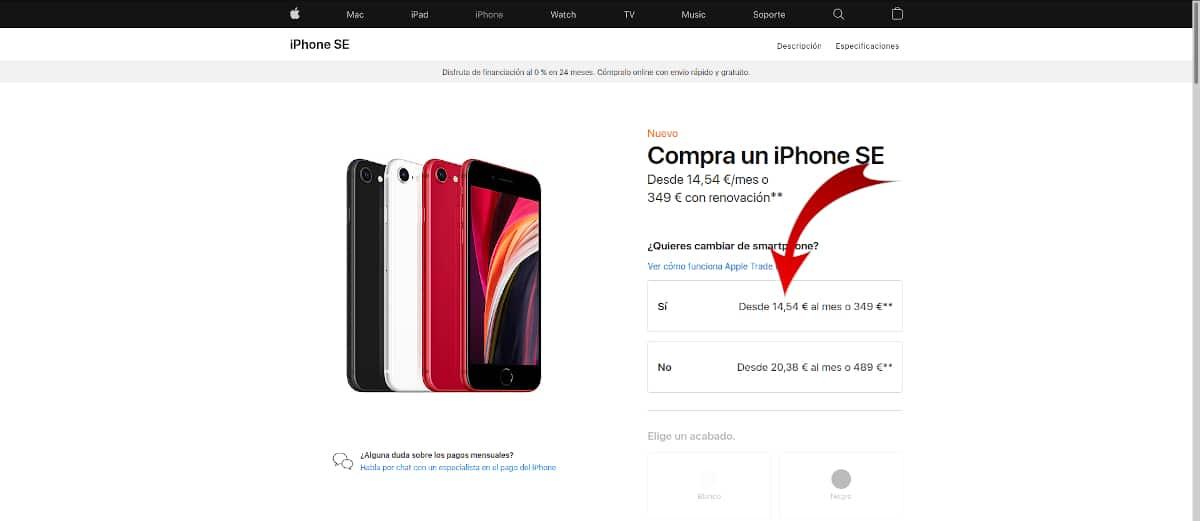 Comprar iPhone a Plazos