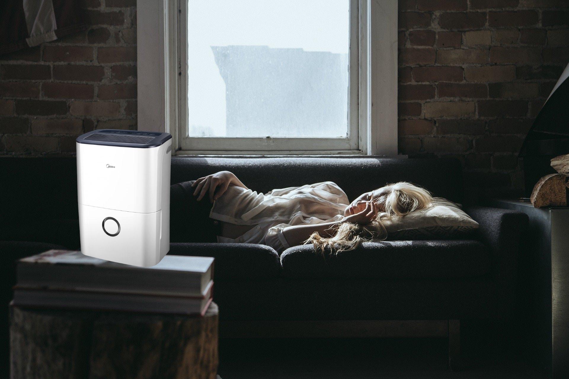 Dormir con humidificador