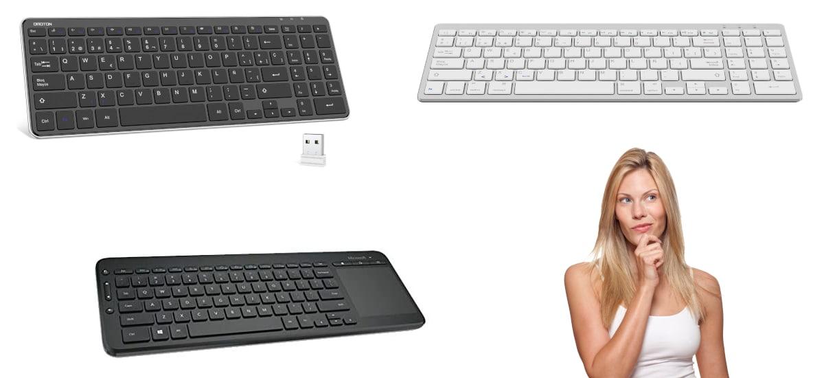 Cómo elegir teclado inalámbrico