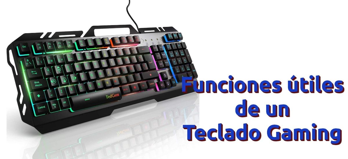 Qué debe tener un teclado gaming