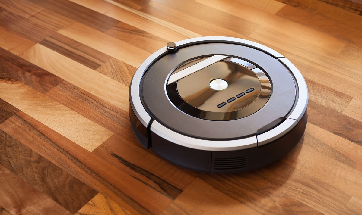 Robot friegasuelos suelo madera