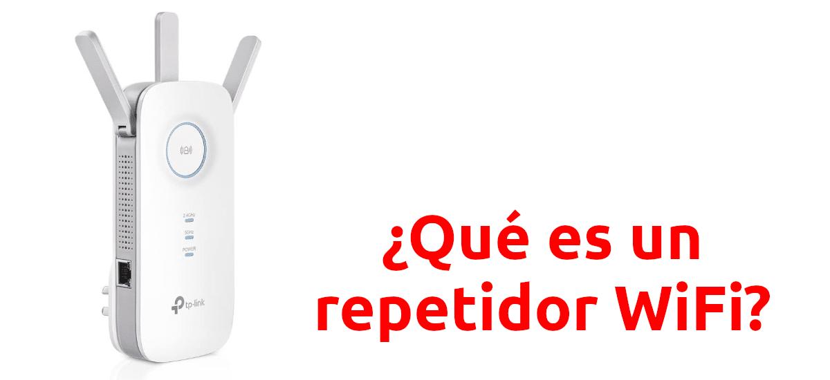 Que es un repetidor wifi