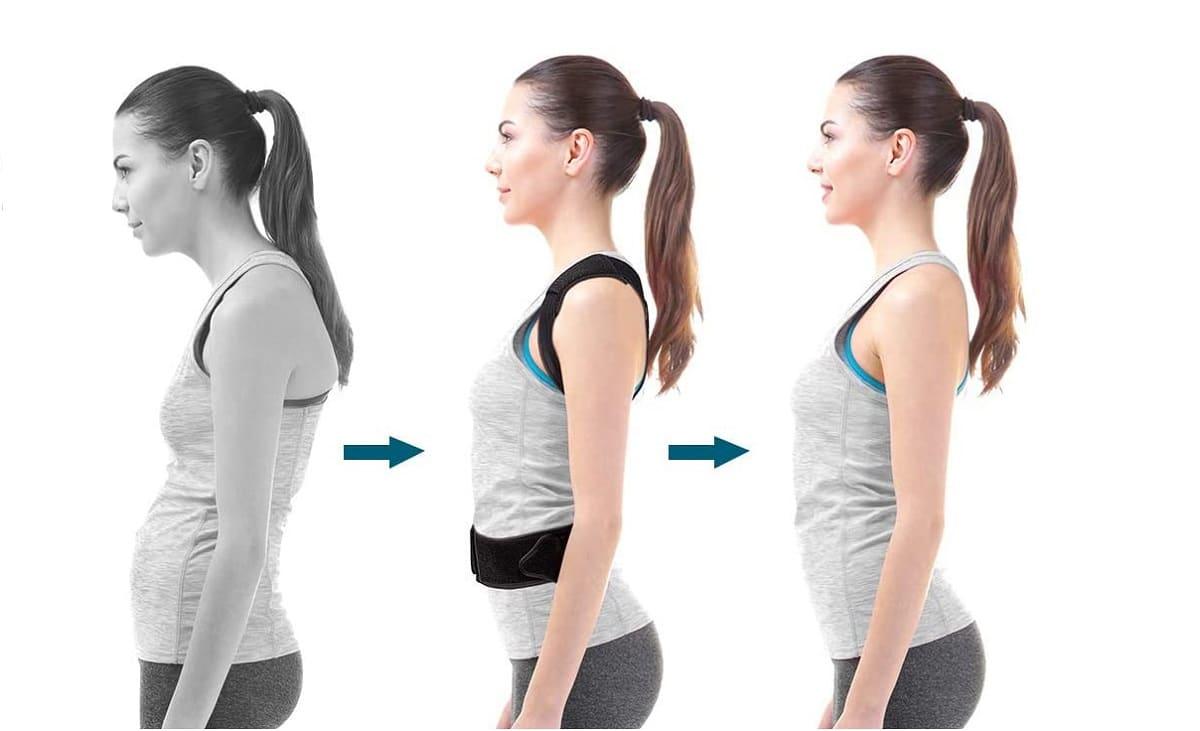 Cómo funciona un corrector de postura