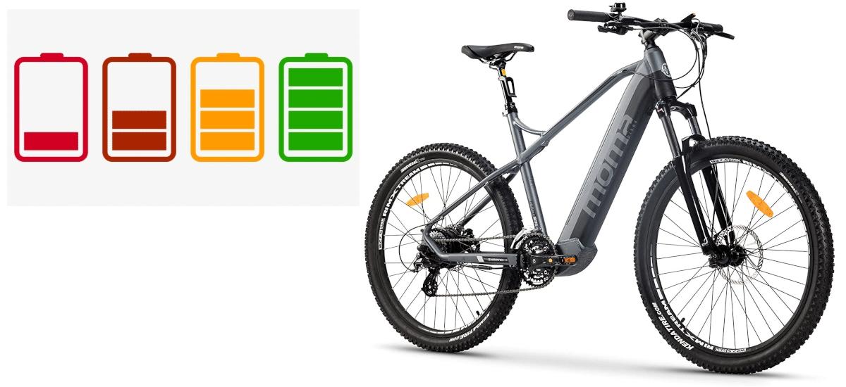 Autonomía bici eléctrica