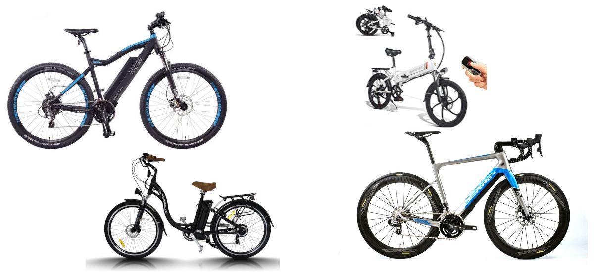 Tipos de bicicletas eléctricas
