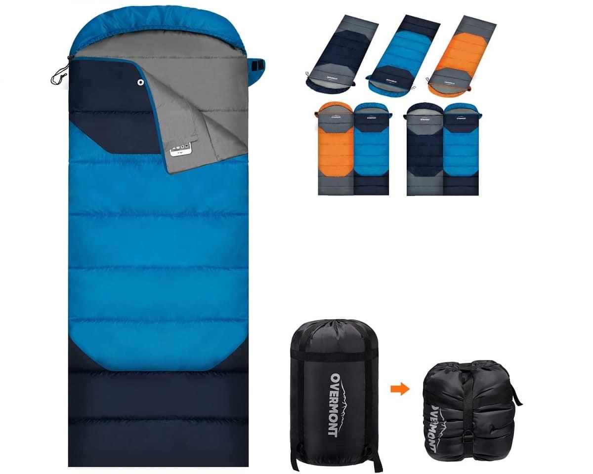 Cómo preparar el saco de dormir